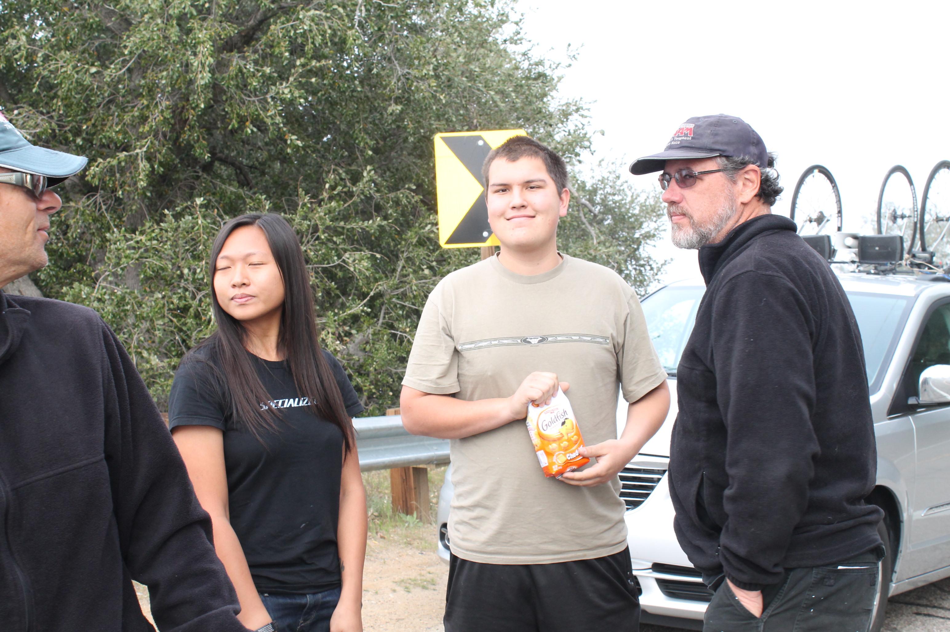 Clay, Deborah, Louie & Bernie, RAAM Challenge Series SoCal Crew