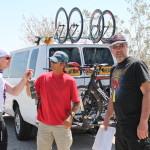 Me, Clay & Bernie, RAAM Challenge Series, SoCal, Crew